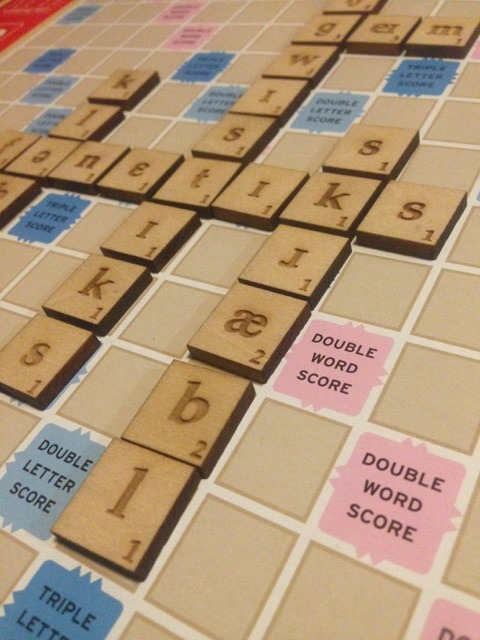 Phonology Scrabble